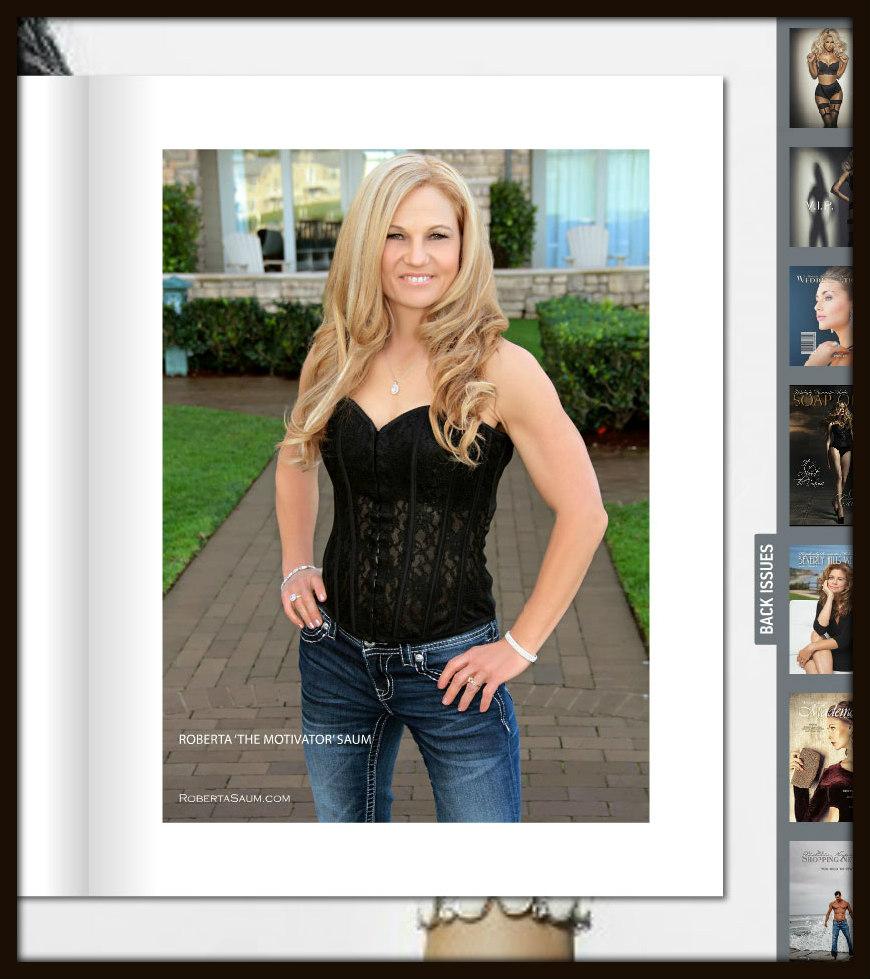 Victoria Napolitano's Chic Fitness Luxury Magazine.