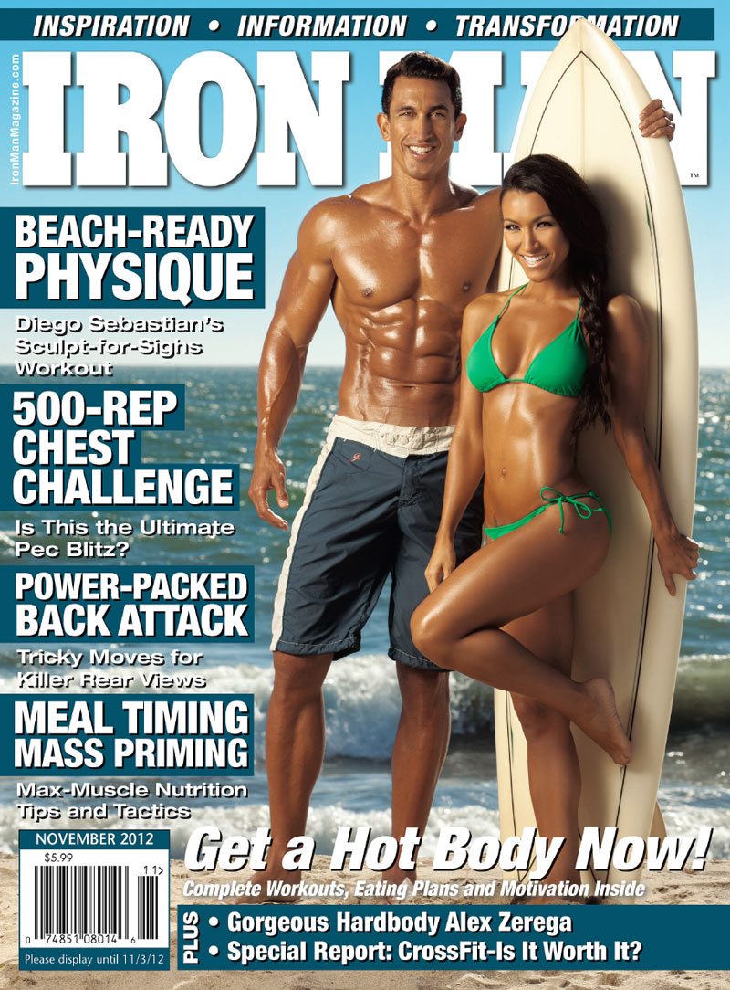 Ironman Mag Nov 2012