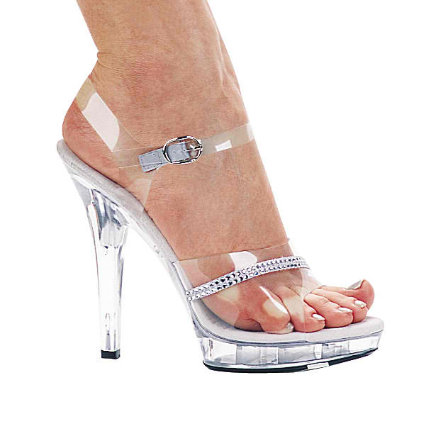 Five inch competition heels