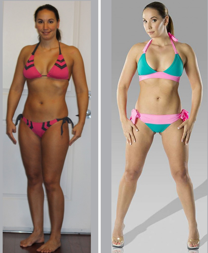 Naomi - Ninth Place - Before and After