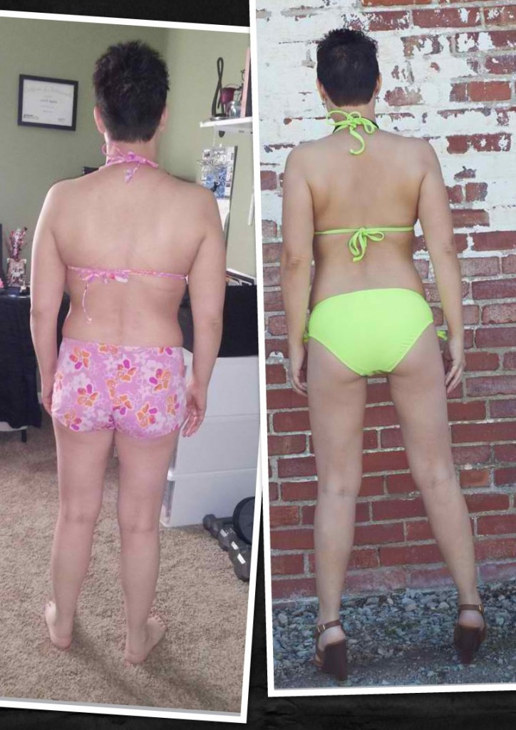 Lori lost 2 inches from her waist and 8 pounds in 12 weeks. Not bad for a hard working mom.