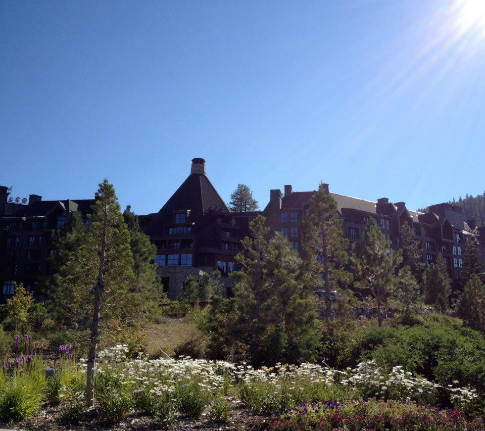 The Ritz Carlton at Lake Tahoe.