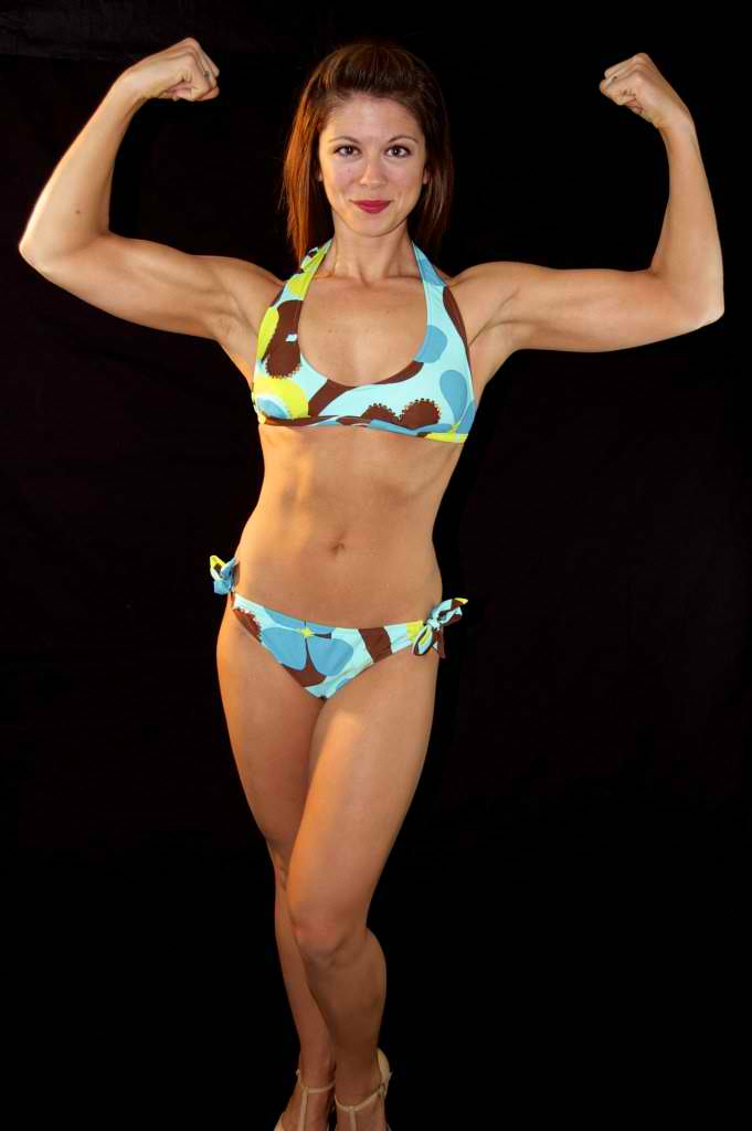 Jessica gained the muscle she wanted.  She spent most of her life as a size 8-12 and now shes down to 0-4.
