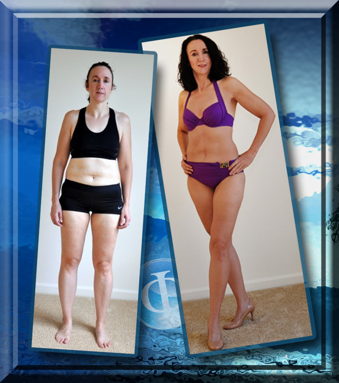 Valerie was shocked that she got the same shape she had in her 20's!  Awesome job Valerie!