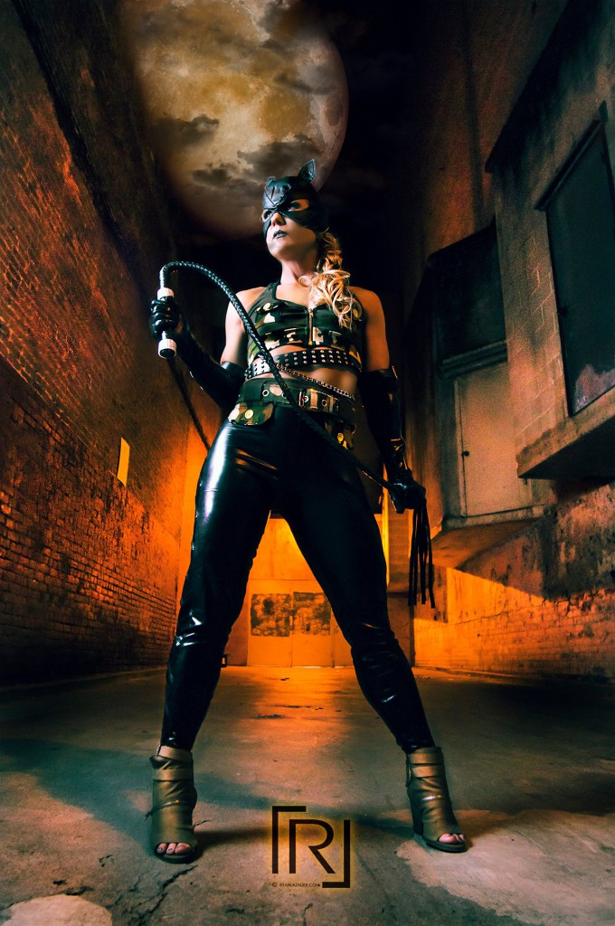 I'm still pinching myself the way I did back in my Venus Transformation contest days.  What, am I really Cat Woman now??!!