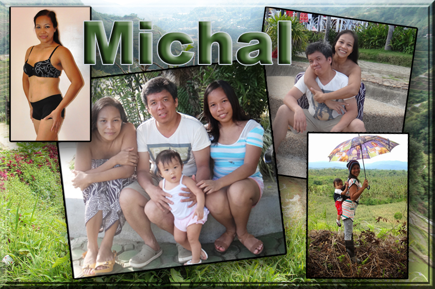Michal lives in the Philippines with her family.