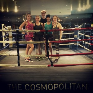 Venus at the Cosmo gym