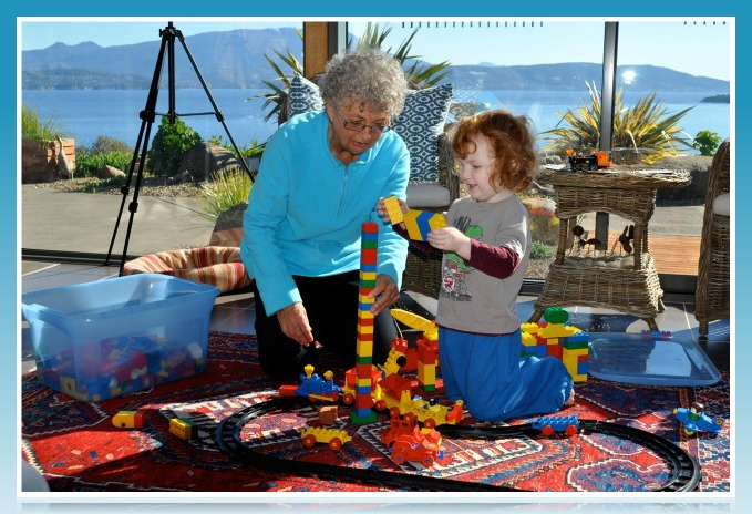 Sue enjoys her grandchildren and finds that Venus is a sustainable lifestyle.