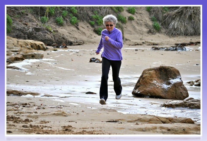 At age 62 Sue finds she is now a runner and has total zest for life!