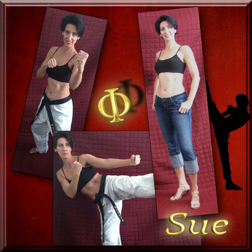 At age 45 Sue has discovered life in a new and improved body!