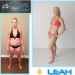 Leah's stunning transformation using the Venus Factor system in only 12 weeks!