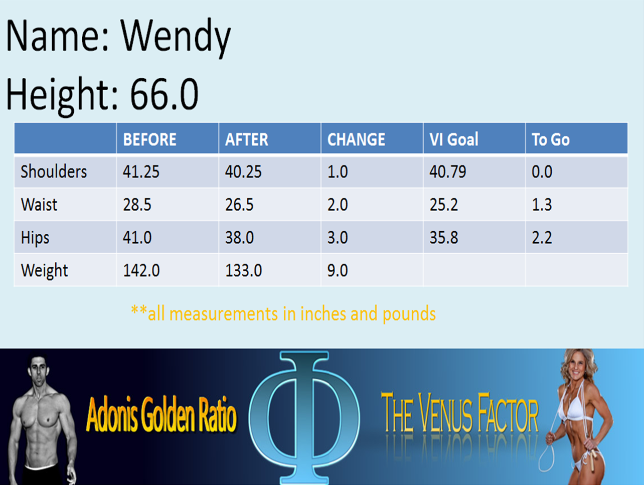 Wendy's metrics change