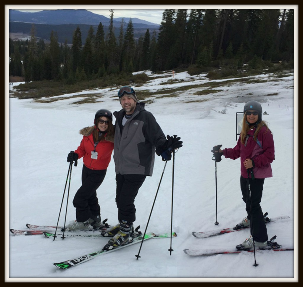Denise, Gary, and I enjoyed a day of skiing at Northstar.