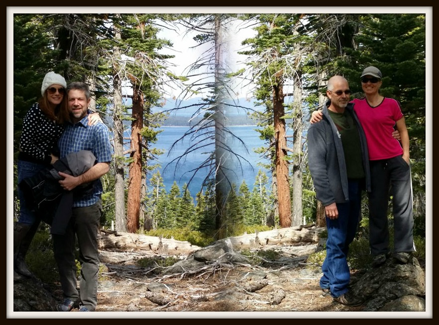 We ended the weekend together with a hike in the beautiful D.L. Bliss state park in South Lake Tahoe.