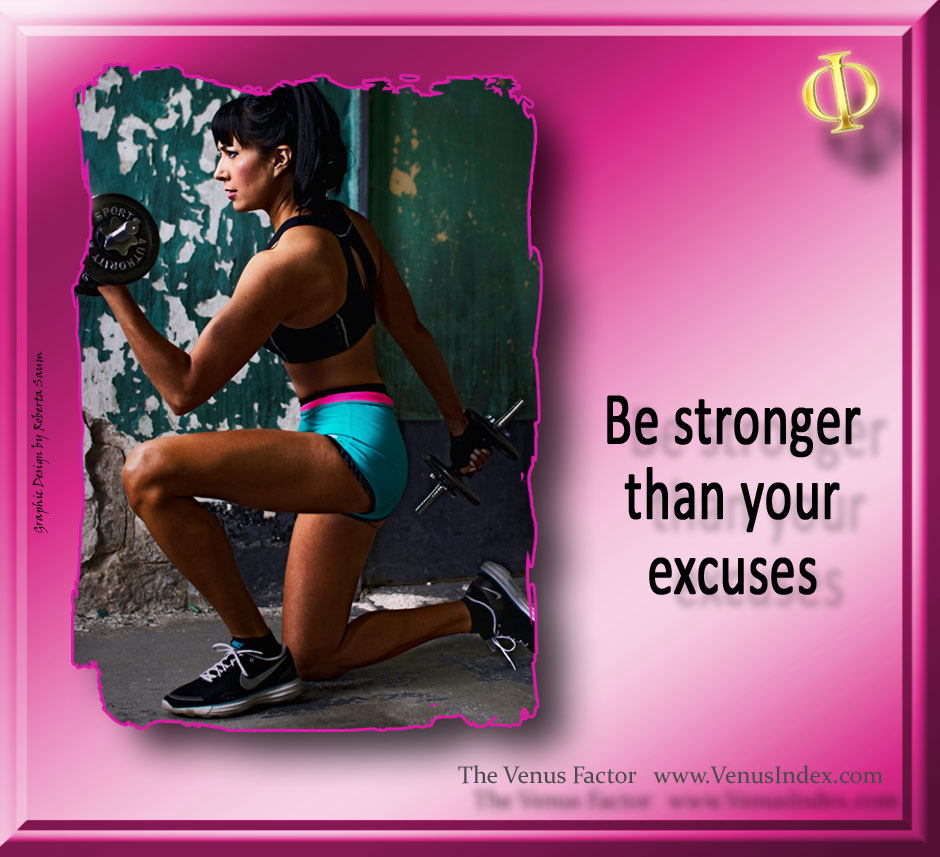 Coach Carla is stronger than any excuse!