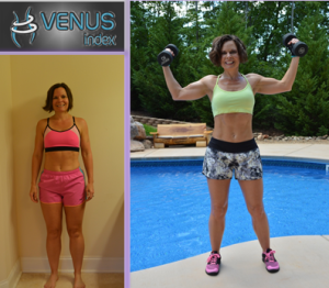 Vanessa before and after Venus