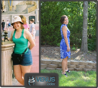 Vaness at her heaviest to now using Venus