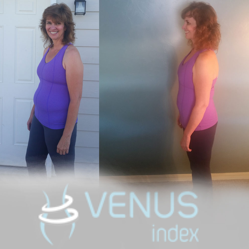 """I decided to check in with the forum and it became apparent the Veteran Venus' would not let the meds be an excuse, and it appeared nutrition was the key. So I decided to put Venus to the test, this time trying the nutrition and weight lifting together. Low and behold the last year of weight gain was taken off in these 12 weeks, and my clothes fit again! """