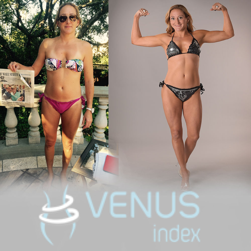 """The only person that could change that was me. I needed a program that I could actually follow and still live my life with my family. Venus was my answer and I am so happy."""