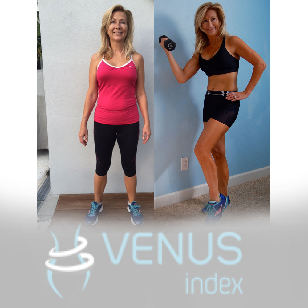 """I am super happy with my results my I""m not ready for maintenance yet. I can still improve! One of the main reasons that I first bought Venus is because I saw Roberta and her amazing body and transformation. She was my age and had muscle! That made me realize that I can still build muscle at my age. Boom!"""
