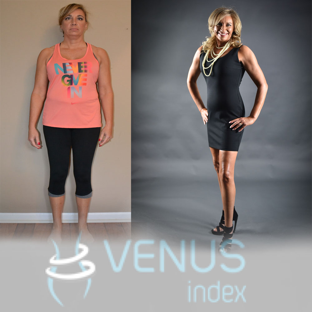 """ I now KNOW, at the very young age of 50, that I will NEVER be overweight again! I AM the BEST I have ever been and I can't wait to see what else I can do!"""