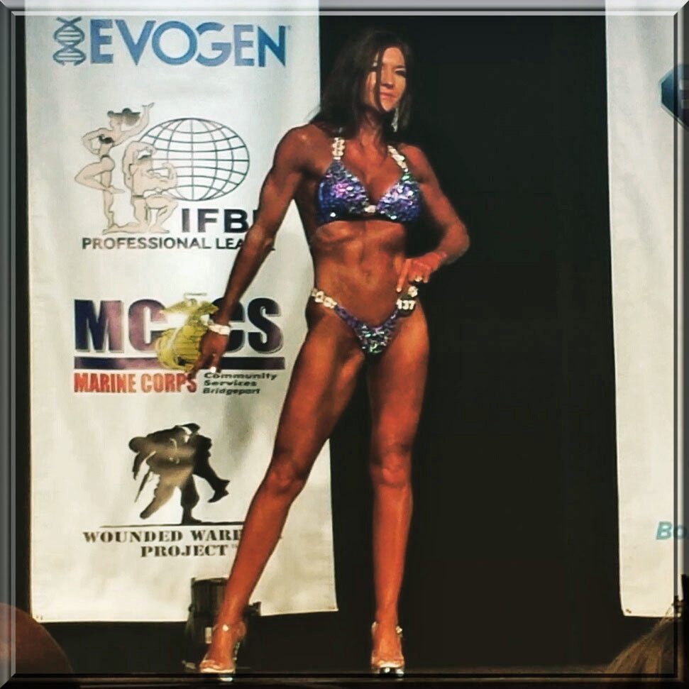 Rhonda did it! There she is on stage at age 56.
